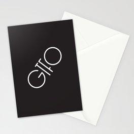 GTFO Minimal Typography Stationery Cards