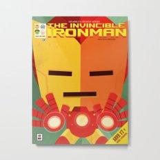 ironman fan art Metal Print