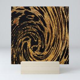 Animal Print Leopard Swirl 2021 Mini Art Print