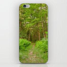 Summer Fern Trail iPhone Skin