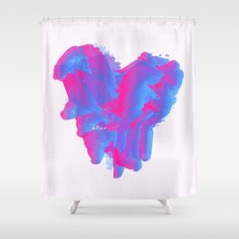 It Beats Shower Curtain