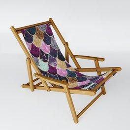 REALLY MERMAID - JEWEL SCALES Sling Chair