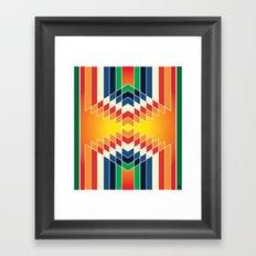 Navajo 9 Framed Art Print