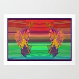 Frakblot Gatekeepers Art Print