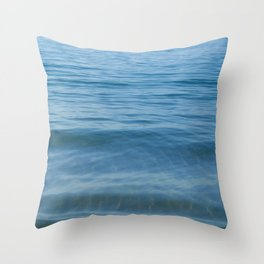 Boat out to Sea Palolem Throw Pillow