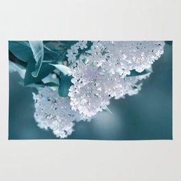 Lilacs blue 092 Rug