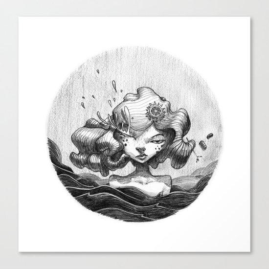 Lacrymosa Canvas Print