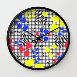 Happy holiday Wall Clock