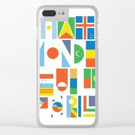 What A Wonderful World II Clear iPhone Case