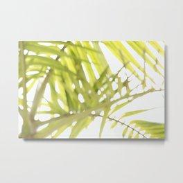Abstract foliage Metal Print