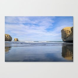 Reflection at the Beach Canvas Print