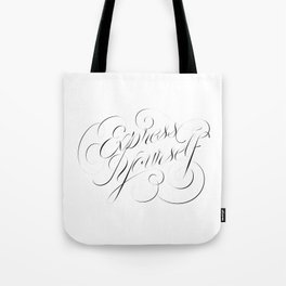Express Yourself! Tote Bag