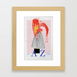 Azula Framed Art Print
