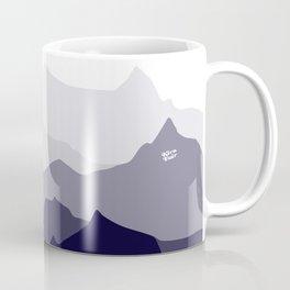BLUE MOUNTAIN PANORAMA #minimal #art #design #kirovair #buyart #decor #home Coffee Mug