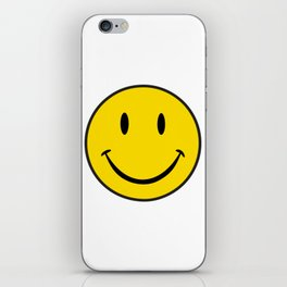 Smiley Happy Face iPhone Skin