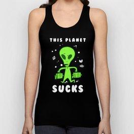 This Planet Sucks Unisex Tank Top