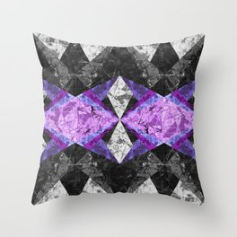 Marble Geometric Background G433 Throw Pillow