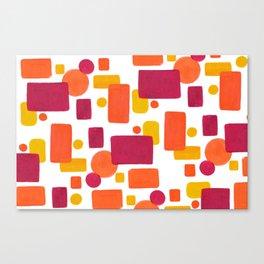 Colorplay No. 1 Canvas Print