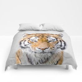 Tiger - Colorful Comforters