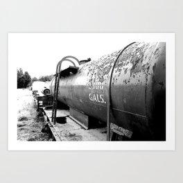 Gallons  Art Print