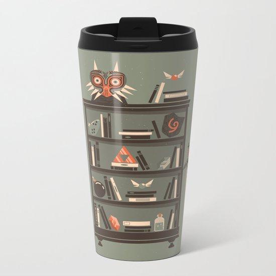 Zelda Shelf // Miyamoto Metal Travel Mug