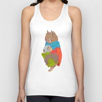 werewolf Tank Tops featuring Werewolf by Chicherova Olga