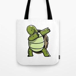 Funny Dabbing Tortoise Pet Dab Dance Tote Bag