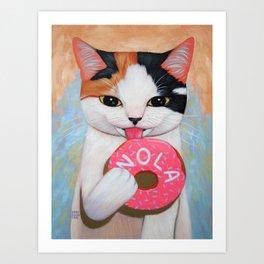 NOLA DONUT Art Print