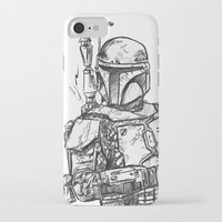 boba fett iPhone & iPod Cases featuring Boba Fett by Leamartes