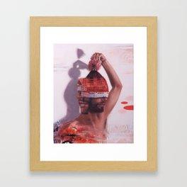 PLAY 1 / listen Framed Art Print