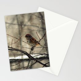 Winter friend. Stationery Cards