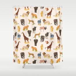 Safari Sightings Shower Curtain