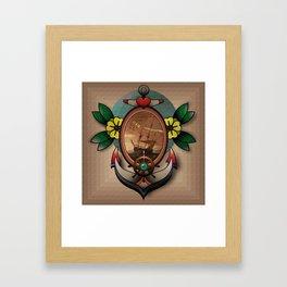 Tattoo Flash Framed Art Print