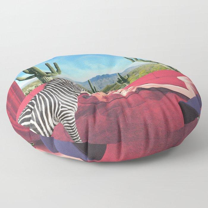 Saguaro Stripes Floor Pillow