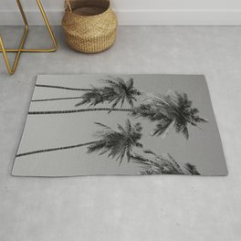 Nature Photography - Palm Trees -Sometimes looking up is the best view Rug