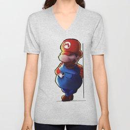 Super Mario Unisex V-Neck