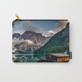 Italy mountains lake Carry-All Pouch