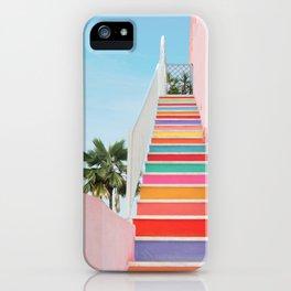 Rainbow Stairway iPhone Case