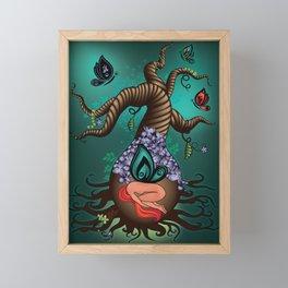Gnarly Butterfly Tree Framed Mini Art Print