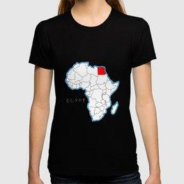 Egypt Map T-shirt