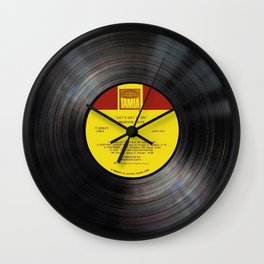 lets get it on Wall Clock