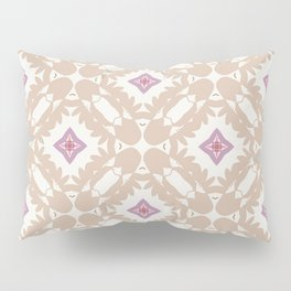 light brown and purple sparkle Pillow Sham