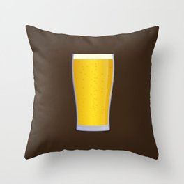 Lager Throw Pillow