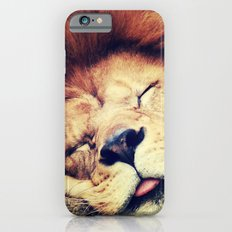 Sleeping Lion - for iphone Slim Case iPhone 6
