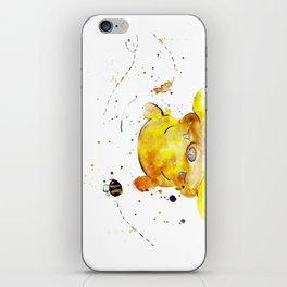 Yellow Bear iPhone Skin