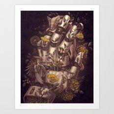 Disperse Art Print