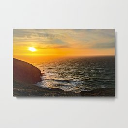 Coast of California Metal Print