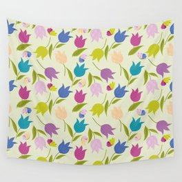 Spring Time. Tulips. Wall Tapestry