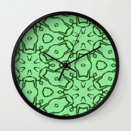 Blasts Wall Clock
