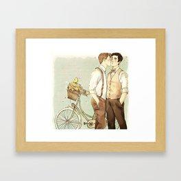 vintage klaine Framed Art Print